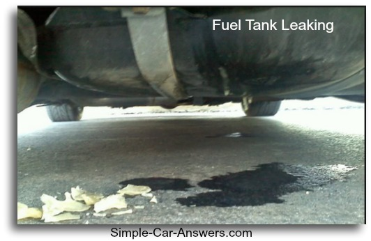 Fuel Tank Leak on engine light gmc sierra