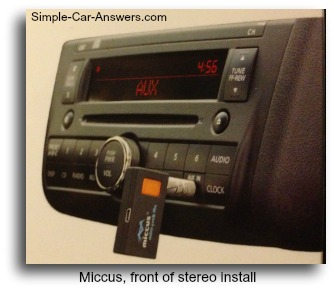 how to connect phone to car stereo use a miccus mini jack. Black Bedroom Furniture Sets. Home Design Ideas