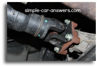 Honda CR-V Drive Shaft U-joint Replacement